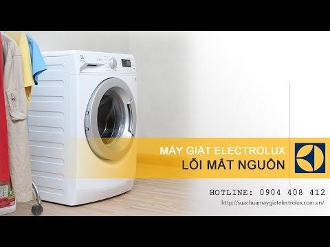 Sửa máy giặt Electrolux bị mất nguồn, không vào điện – Quỳnh Electrolux