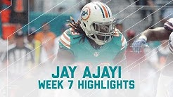 Jay Ajayi Rushes for 214 Yards! | Bills vs. Dolphins | NFL Week 7 Player Highlights