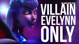 K/DA - VILLAIN but it's only Evelynn scenes perfectly synced from MORE (Fan-made Music Video)