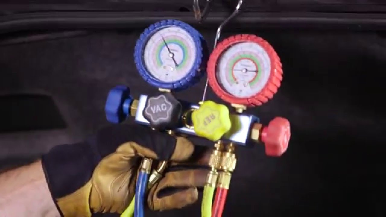 air conditioning diagnostic tools - youtube