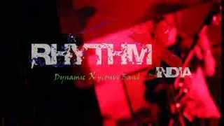 Rhythmx india band  live club show rock sufi pop techno & bollywood