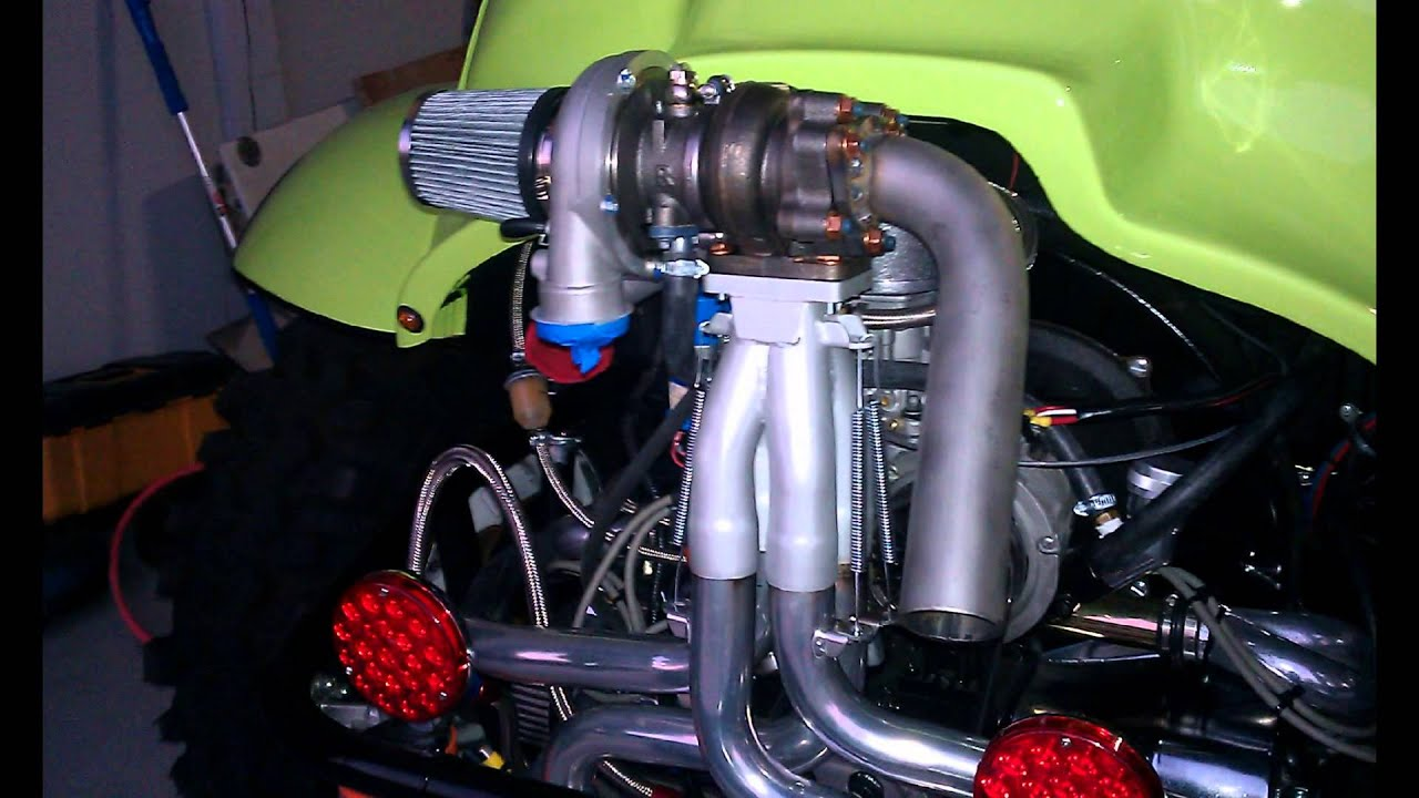 AIRCOOLED VW 1914 TURBO INSTALL - YouTube
