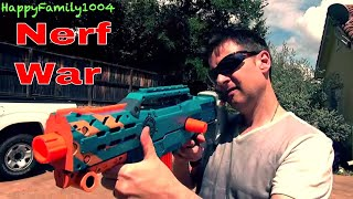 Nerf War: Nerf Blaster vs. BB Gun