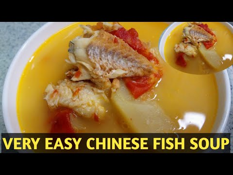 HOW TO COOK CHINESE FISH SOUP (with Tomatoes And Potatoes)