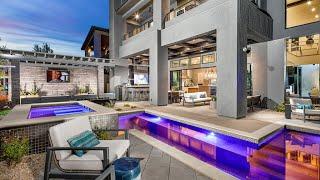 Mid-Century Modern Home For Sale Las Vegas $896K | 4,410 Sqft | 5 BDs | 5.5 BAs | 3 Car