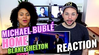 Michael Buble & Blake Shelton - Home | Live 2008 | REACTION