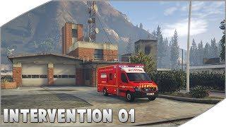 GTA 5 : SAPEURS-POMPIERS   INTERVENTION #01   REANIMATION SDIS 33