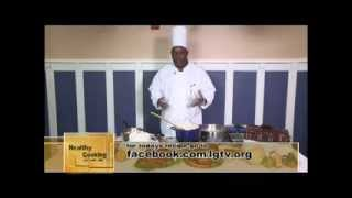 Healthy Cooking with Chef Jeff - Turkey Stew