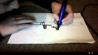 How to draw a rocket launcher (MK 153 SMAW)