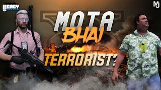 🔴LIVE GTA 5 RP   MOTA BHAI TERRORIST ?? !STARKCOINS ARE BACK  !member membership only @59