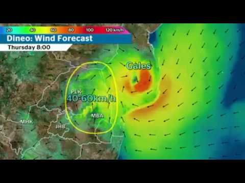 TROPICAL CYCLONE DINEO update