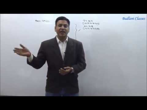 CA  / CMA Final : Income Tax (DT) : AY 17-18 : Return of Income : Lecture 1