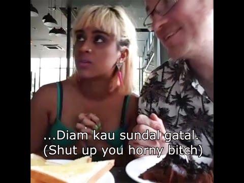 """diam kau sundal gatal"" (with subtitles)"