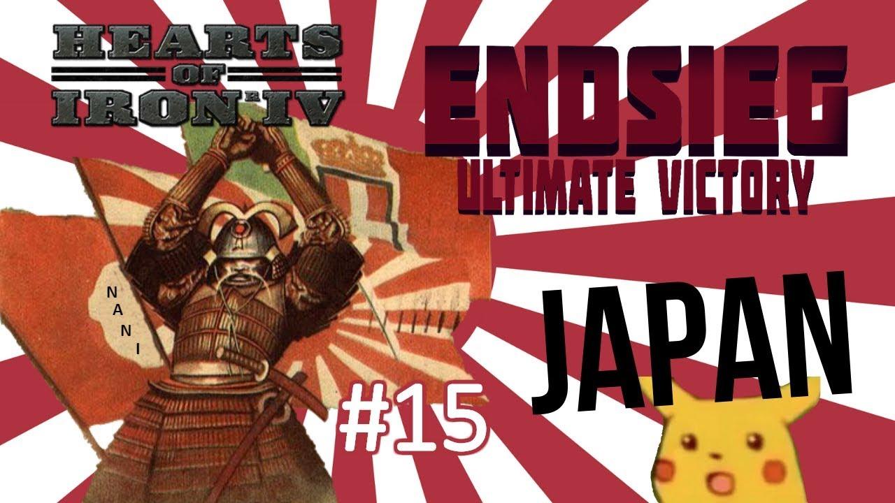 HoI4 - Endsieg - 1945 WW2 Japan - #15 Comrade Japan Rules The Motherland!