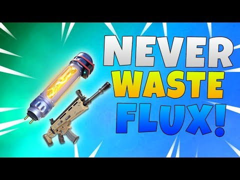 Never Waste Legendary Flux | Fortnite Save The World Weapon Guide