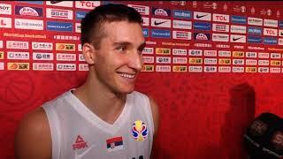 Bogdan Bogdanović Nakon Osvajanja 5. Mesta na Mundobasketu   SPORT KLUB KOŠARKA
