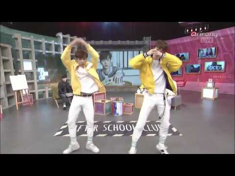 ASTRO  Moon Bin & Rocky dance After School Club