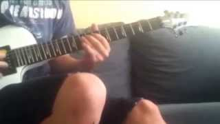 In flames -  filtered truth solo cover