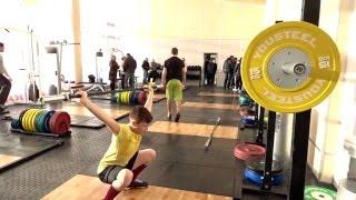 """Открытие Зала тяжелой атлетики в СК """"Салют Гераклион"""""""