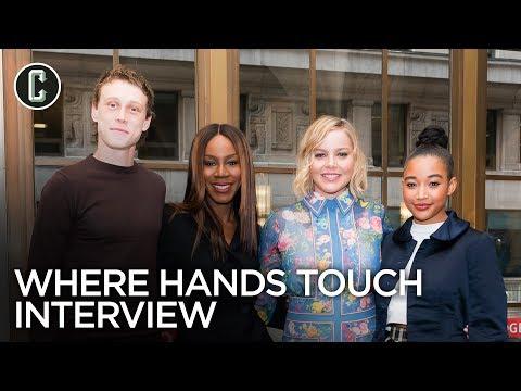 Where Hands Touch: Amandla Stenberg, Abbie Cornish, George MacKay and Director Amma Asante