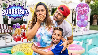 ANDREA'S Dream BIRTHDAY SURPRISE Came True!! | The Royalty Family