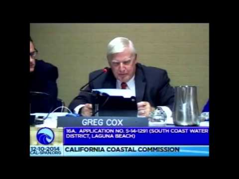 South Coast Water District Tunnel Project Presentation to California Coastal Commission