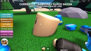 The LINE THEY GO PULL TOGETHER SUPER SAIYAN SUPER SAIYAN GOD NAMLKUN [ROBLOX: Saiyan Simulator]