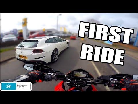 2012 Ducati Hypermotard 796 First Ride | Termignoni Exhaust