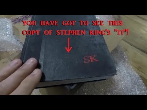 Rare *Eerie* Copy Of Stephen King's It First Edition Book 1986 EBay Find, Vintage, Antique