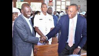 Uhuru, Ruto show of solidarity | Kenya news today