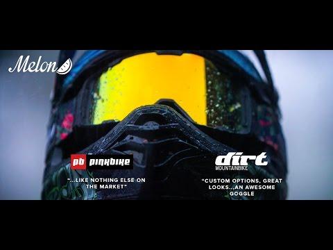 Melon Parker MX / MTB Goggles Launch Video