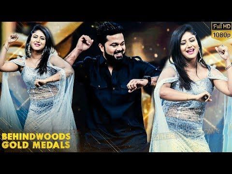 Alya Manasa & Sanjeev Romantic Dance to Chinna Machan Song!! Vijay TV Raja Rani Couple