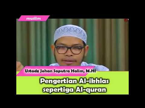 pengertian-al-ikhlas-spertiga-al-quran