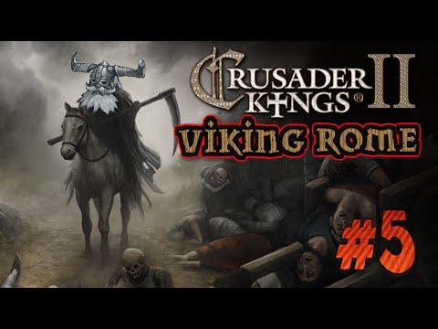 Crusader Kings 2 Reaper&39;s Due - Nerslagen av Mor - Viking Rome - 5 Svenska