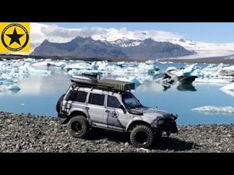 Iceland off road crossing by TOYOTA LANDCRUISER HD80 RC very unique footage!