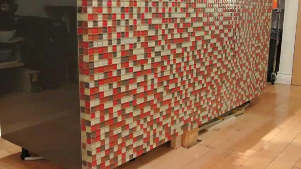 Ikea Kitchen Base Cabinets Antiqued Building Island And Tiling Timelapse - Youtube