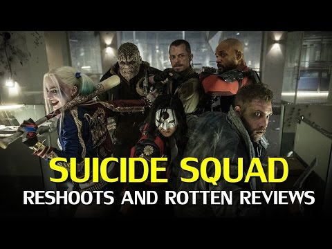 Suicide Squad: Reshoots, Production Trouble & Biased Critics