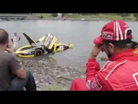Ferrari Enzo FXX Crash.