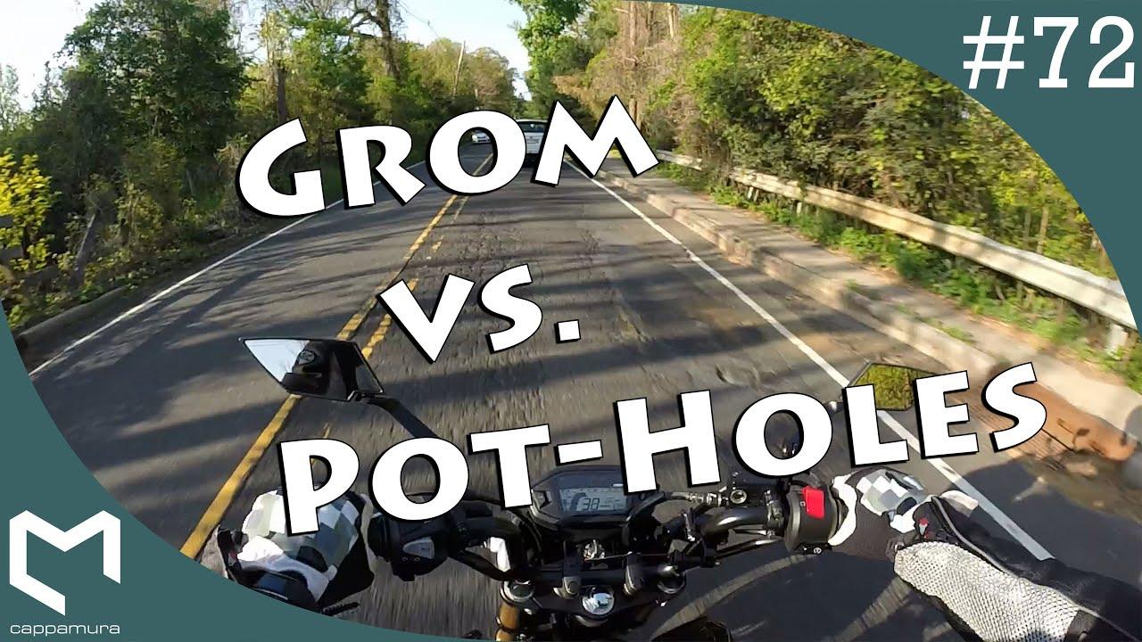 Honda Grom Problems | Getting Second Camera | NJ Potholes