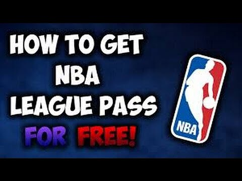 HOW TO GET NBA League PASS FREE
