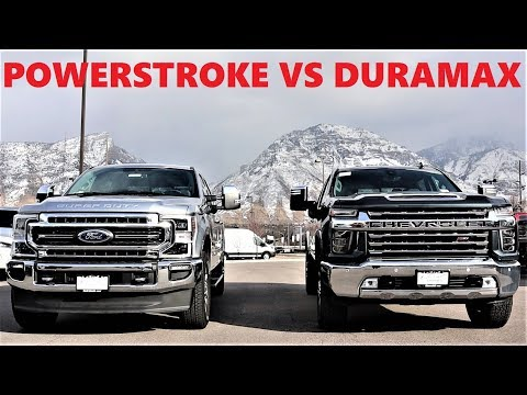 2020 Ford F-350 Lariat Vs 2020 Chevy 3500 LTZ: Which $80,000 Diesel Truck Should You Buy???