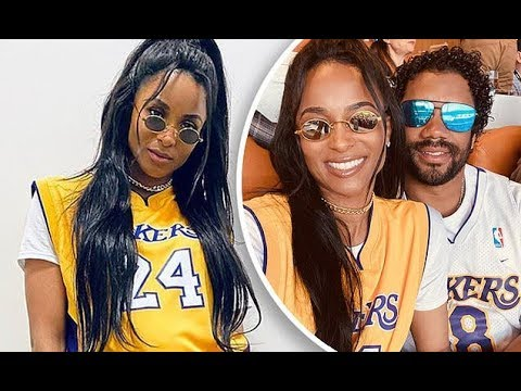 ciara-covers-up-her-baby-bump-in-kobe-bryant's-no.-24-lakers-jersey-for-super-bowl-liv...-as-her-hus