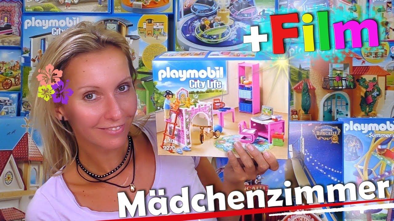 PLAYMOBIL 🛴 Fröhliches Kinderzimmer 9270 🤸 ♀ + extra Film ...