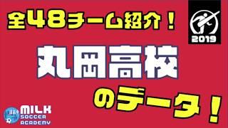 【福井県・丸岡高校】全チーム紹介!☆全国高校サッカー選手権