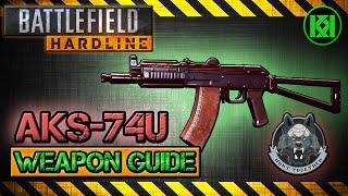 aks 74u review gameplay best gun setup   battlefield hardline weapon guide bfh