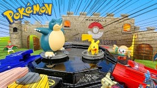 Pokemon Clash Battle Colosseum - Pokémon Toys Battle Challenge | ALPACO