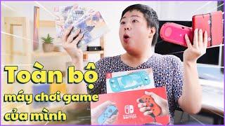 Toàn Bộ Máy Chơi Game Của Mình... Nintendo Switch, Ps Vita, 3DSLL, Nintendo Switch Lite ???