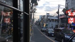 東急バス井03 池上営業所~蒲田駅 前面展望(営業所始発)