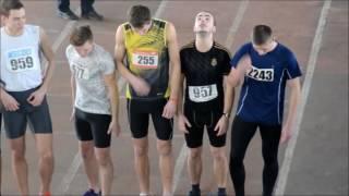 Зимовий чемпіонат області з легкої атлетики