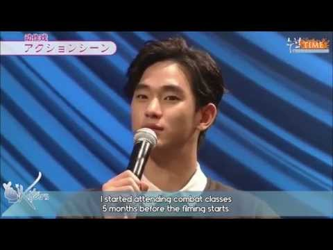 [ENGSUB] 140130 Kim Soo Hyun's 1st Official Fanmeet in Japan - Interview Part 2